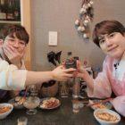 DinDin muestra su amistad con Kyuhyun de Super Junior en adorables fotos
