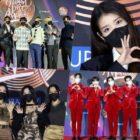 Estrellas posan en la alfombra roja el Día 1 de los 35th Golden Disc Awards