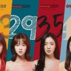 [Actualizado] Kim Bo Ra, Shim Eun Woo, Ryu Hwa Young y Park Jin Hee muestran sus colores en el póster de próximo drama