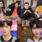 """Cha Eun Woo de ASTRO y Hwang In Yeob intentan ganarse el favor de la familia de Moon Ga Young en """"True Beauty"""""""