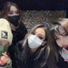 Las integrantes de 2NE1 se reúnen para celebrar juntas el cumpleaños de Minzy