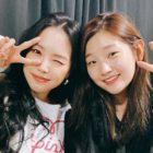 Park So Dam agradece a Naeun de Apink por animarla con el envío de un regalo al set de filmación