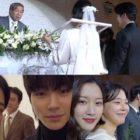 """El elenco de """"True Beauty"""" lleva a los espectadores detrás de las escenas de la boda de Im Se Mi y Oh Eui Sik"""