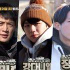 """Minho de SHINee, Kang Daniel y Jang Hyuk desafían las temperaturas bajo cero y los retos de supervivencia inusuales en la vista previa de """"Law Of The Jungle"""""""