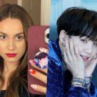 Maude Apatow muestra amor por Suga de BTS + Zendaya y Halsey la apoyan
