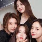 Girl's Day muestra amor por Hyeri en el set de su nuevo drama