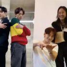 Lee Hyori y Yunho de ATEEZ bailan con Rain la canción debut de su nuevo grupo Ciipher