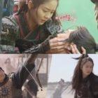"""Kim So Hyun y Na In Woo pusieron su corazón y su alma en la filmación de """"River Where The Moon Rises"""""""