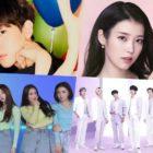 Baekhyun de EXO, IU, Brave Girls y BTS encabezan las listas mensuales y semanales de Gaon