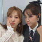 Kim Sejeong y Wendy de Red Velvet muestran su linda amistad en una foto juntas
