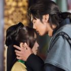 "Kim So Hyun y Na In Woo comparten un tierno beso en medio de todo el caos en ""River Where The Moon Rises"""
