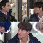"""Lee Seung Gi le pide a Kim Jong Kook que elija entre cantar o hacer ejercicio en """"Master In The House"""""""