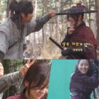 """Na In Woo y Kim So Hyun comparten bromas y risas durante la grabación de los primeros episodios de """"River Where The Moon Rises"""""""