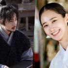 Jung Il Woo, Yuri de Girls' Generation y más, sonríen alegremente mientras filman con el traje completo para próximo drama histórico