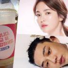 Song Hye Kyo agradece a Yoo Ah In por enviar apoyo al set de su nuevo drama