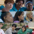 """""""So Not Worth It"""" presenta la caótica amistad de Youngjae de GOT7, Minnie de (G)I-DLE, Han Hyun Min y más en un nuevo teaser"""