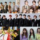 NCT DREAM, BTS, THE BOYZ, TXT, y Brave Girls copan las listas mensuales y semanales de Gaon