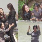 """Kim So Yeon, Eugene y Lee Ji Ah muestran química y trabajo en equipo en la escena de acción al aire libre de """"The Penthouse 3"""""""