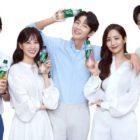 Lee Joon Gi, Park Min Young, Song Kang, Park Eun Bin y Kang Ki Young protagonizan juntos un comercial de bebidas