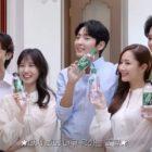 Namoo Actors comparte una mirada detrás de cámaras del comercial de Lee Joon Gi, Park Min Young, Song Kang, Park Eun Bin y Kang Ki Young