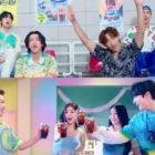 """MONSTA X, Brave Girls, ATEEZ y Rain, forman equipo en nuevo MV para la colaboración """"Summer Taste"""""""