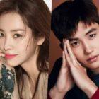 Han Ji Min muestra apoyo por Park Hyung Sik en el set de su nuevo drama