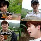 """Lee Know, Yunho, Juyeon, Ha Sung Woon, Kim Woo Seok, Jaehyo y Park Woo Jin aparecen en una espectacular vista previa de """"City Angler"""""""