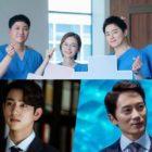 """""""Hospital Playlist 2"""" defiende su posición de drama más popular + Jinyoung de GOT7 y Ji Sung lideran la lista de mejores actores"""