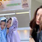 Hyeri de Girl's Day agradece a su amiga Krystal de f(x) por apoyar a ella y Seo Ye Hwa en el set de su drama