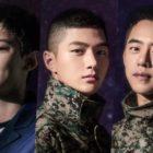 Chanyeol de EXO, Kim Myung Soo de INFINITE y Daehyun de B.A.P son elegidos para un musical militar