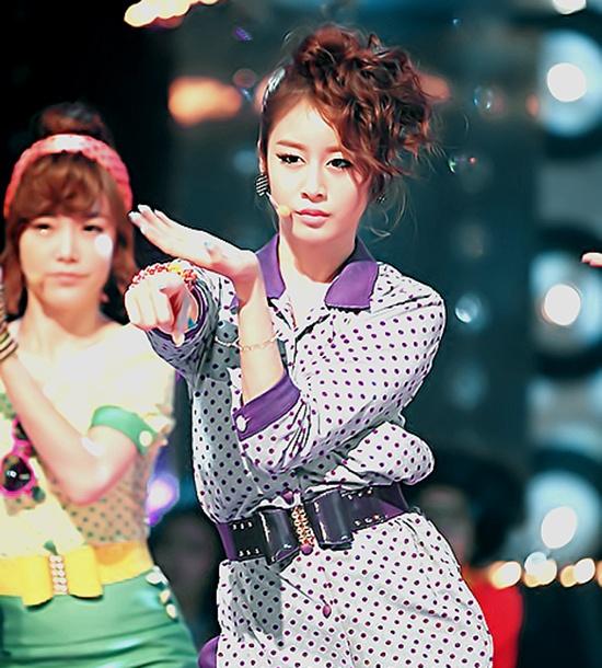 T-ara's Jiyeon Takes a Break from Activities
