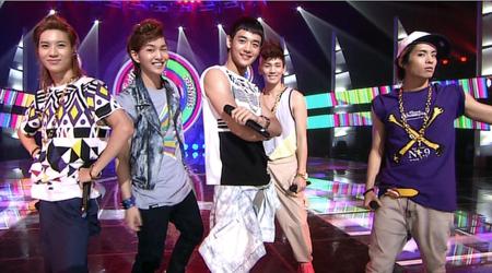 SBS Inkigayo 07.25.10 Performances