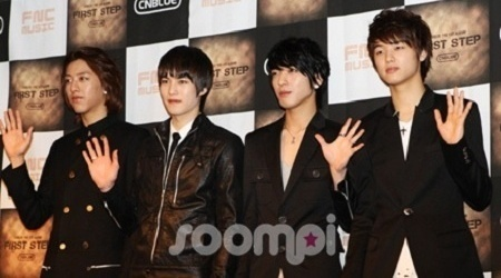 CN Blue Nears Big Bang and TVXQ in Album Sales