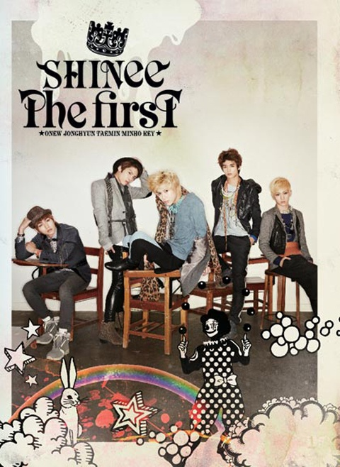 "SHINee Releases Japanese Album ""The First"" in Korea"