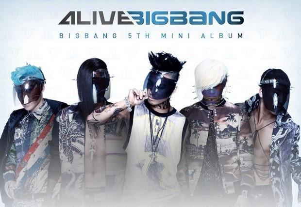 """BIGBANG's """"Alive"""" Ranks #1 on Taiwanese Music Charts"""