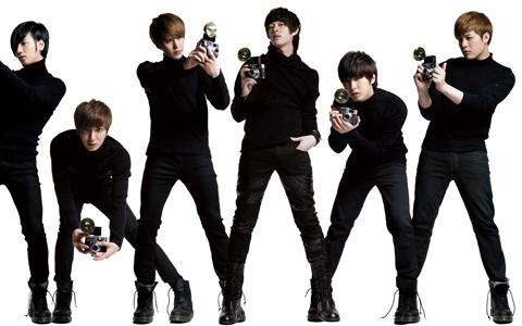 "Super Juniors Releases ""A-CHA"" Dance MV"