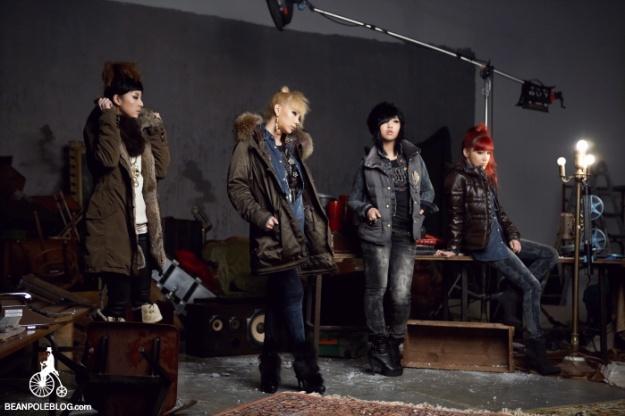 BTS Bean Pole F/W 2010 (2NE1)