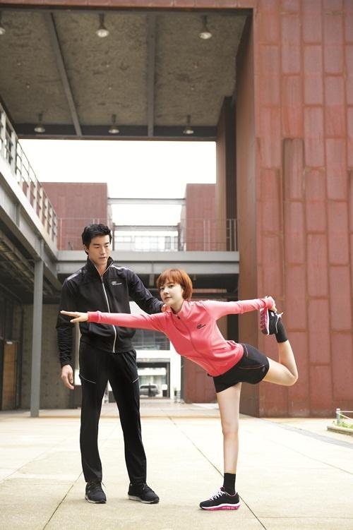 Hwang Jung Eum Shows Off Her Sleek Figure