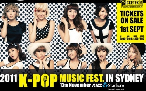 "Kara, BEAST and SNSD Invite Fans to See ""2011 K-Pop Music Fest in Sydney"""