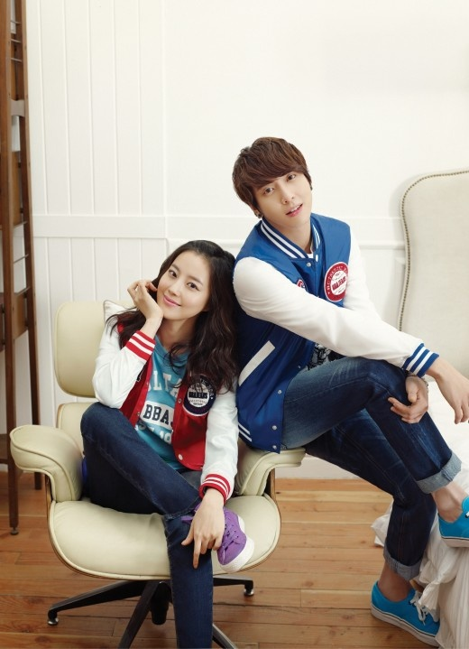 CN Blue Jung Yong Hwa Couple Photoshoot with Moon Chae Won