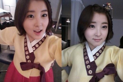 4minute's So Hyun Sports a Hanbok for Chuseok