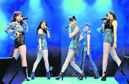 More Sneak Peeks of the Wonder Girls' Show