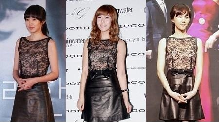 Who Wore it Best: Sexy Black See-through Mini Dress Edition
