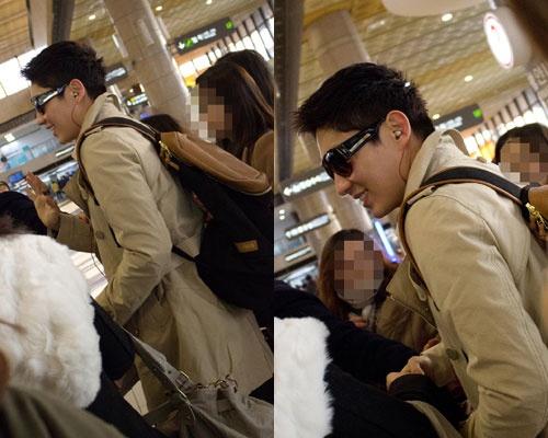 Lee Jun Ki's Airport Fashion