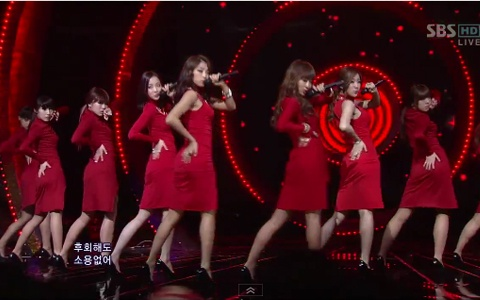 "SISTAR Performs ""Alone"" on Inkigayo"