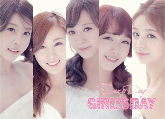 Girl's Day Turn into Summer Brides for New Album Jacket Photo