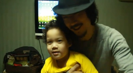 [VIDEO] Tiger JK and Son Jordan Send a Shout Out to Brazil