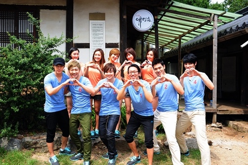 """Suju's Donghae and Jewelry's Eun Jung Confirmed for """"Star Affection Village"""" Chuseok Special"""