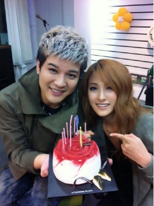 KARA's Gyuri Celebrates Super Junior's Shindong's 27th Birthday