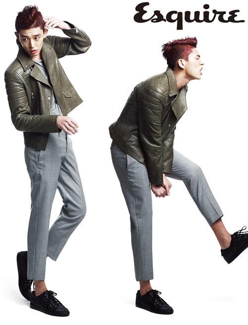 "Fashion Brand ""Neil Barrett"" Choses Yoo Ah In as Model for ""Esquire"" Magazine"